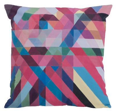 Layered Ribbons Pillow--Home Accessories