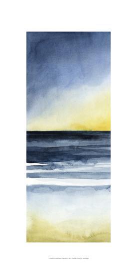 Layered Sunset Triptych I-Grace Popp-Art Print