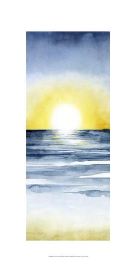 Layered Sunset Triptych II-Grace Popp-Art Print