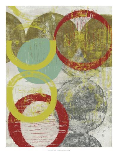 Layers & Circles II-Jennifer Goldberger-Giclee Print