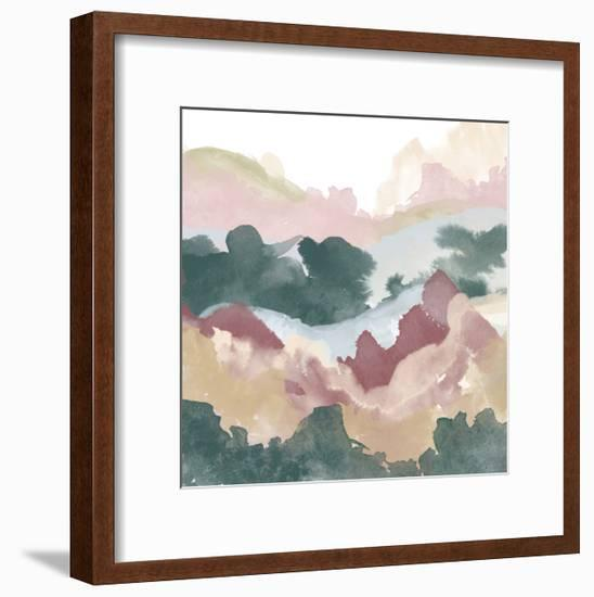 Layers of Summer Evening B-THE Studio-Framed Premium Giclee Print