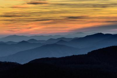 Layers of the Blue Ridge Mountains-skiserge1-Photographic Print