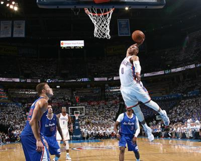 2014 NBA Playoffs Game 2: May 7, Los Angeles Clippers vs Oklahoma City Thunder - Russell Westbrook