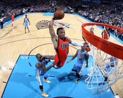 Denver Nuggets v Oklahoma City Thunder