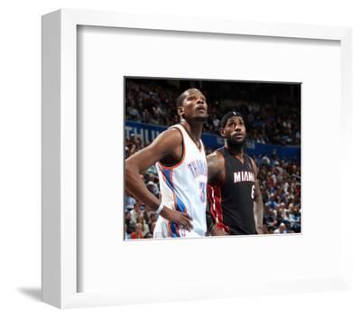 Feb 20, 2014, Miami Heat vs Oklahoma City Thunder - LeBron James, Kevin Durant