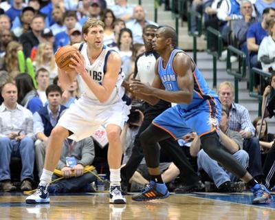 Mar 25, 2014, Oklahoma City Thunder vs Dallas Mavericks - Dirk Nowitzki