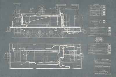 Layout for Tank Engines II-The Vintage Collection-Giclee Print