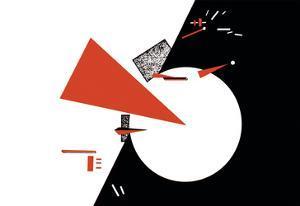 Red Triangles by Lazar Lisitsky