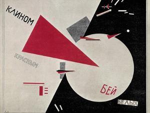 Russian Civil War, 1920 by Lazar Lisitsky