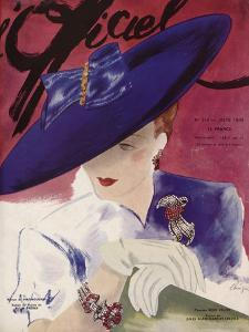 L'Officiel, June 1939 - Rose Valois by Lbenigni