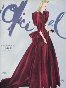 L'Officiel, September 1939 - L. Mendel by Lbenigni