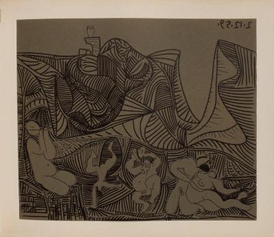 LC - Bacchanale au hibou-Pablo Picasso-Collectable Print