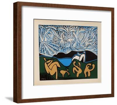 LC - Bacchanale III-Pablo Picasso-Framed Premium Edition