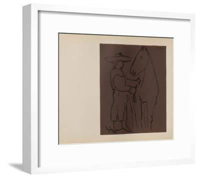LC - Picador et cheval-Pablo Picasso-Framed Collectable Print