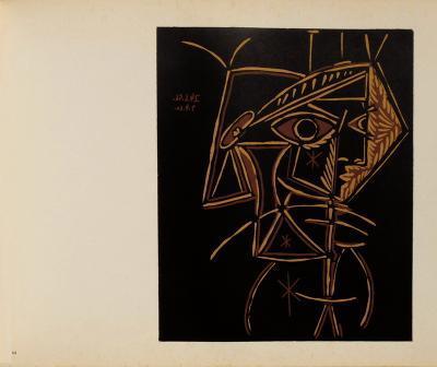 LC - T?te de femme-Pablo Picasso-Collectable Print