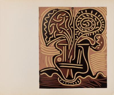 LC - Vase de fleurs-Pablo Picasso-Collectable Print