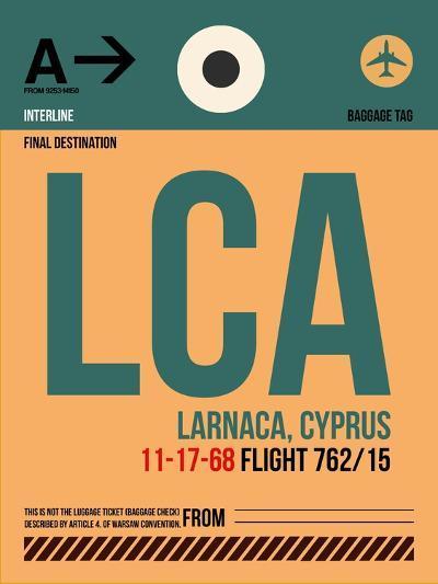 LCA Cyprus Luggage Tag I-NaxArt-Art Print