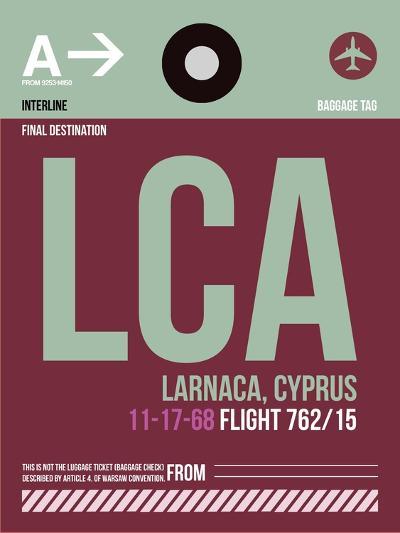 LCA Cyprus Luggage Tag II-NaxArt-Art Print