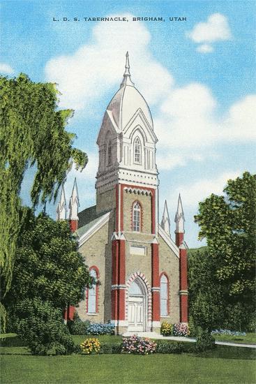 Lds Tabernacle, Brigham--Art Print