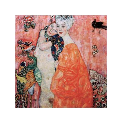 Le Amiche-Gustav Klimt-Giclee Print
