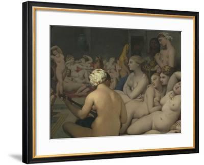 Le Bain turc-Jean-Auguste-Dominique Ingres-Framed Giclee Print