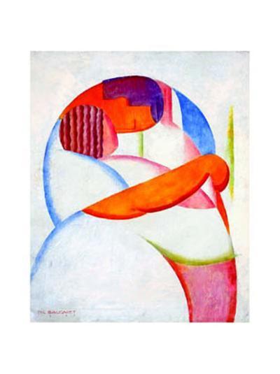 Le Baiser, c.1925-Marcel-Louis Baugniet-Art Print