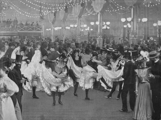 'Le Bal Du Moulin-Rouge', 1900-Unknown-Photographic Print