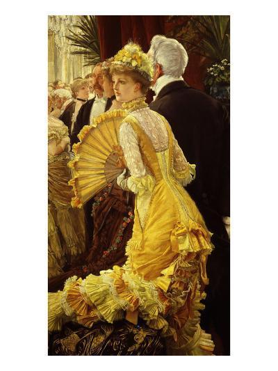 Le Bal (The Ball)-James Tissot-Giclee Print