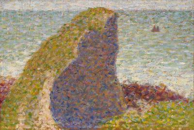 Le Bec Du Hoc, Grandcamp (Stud), 1885-Georges Seurat-Giclee Print