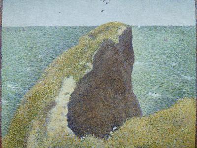 Le Bec Du Hoc, Grandcamp-Georges Seurat-Giclee Print