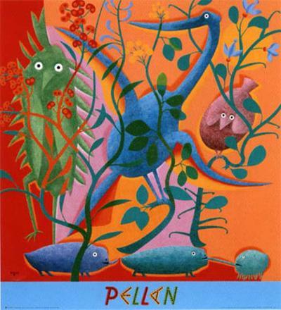 Le Bestiaire No. 23-Alfred Pellan-Art Print