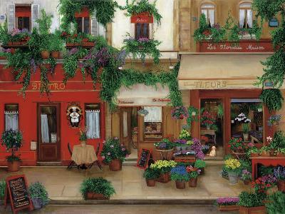 Le Bistro Rouge-Betty Lou-Giclee Print