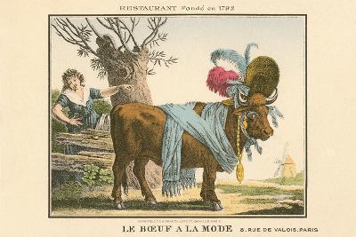 Le Boeuf a La Mode Resaurant--Art Print