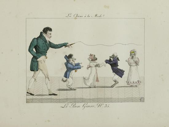 Le Bon Genre: Observations About the Parisian Fashion and Customs-Pierre Antoine Leboux De La Mesangere-Giclee Print