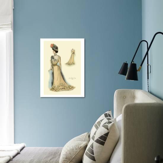 Le Bon Ton In Gold Art Print Art Com