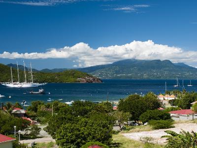 Le Bourg, Iles Des Saintes, Terre de Haut, Guadeloupe, West Indies, French Caribbean, France-Sergio Pitamitz-Photographic Print