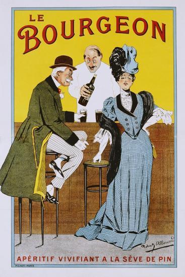 Le Bourgeon Poster-Robert Allouard-Giclee Print