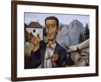Le bouvier-Roger de La Fresnaye-Framed Giclee Print