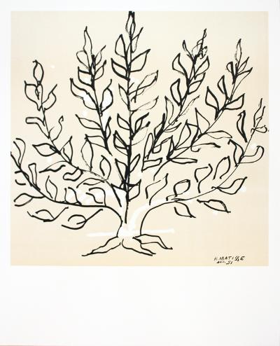 Le Buisson-Henri Matisse-Art Print