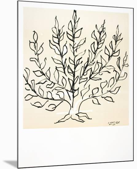 Le Buisson-Henri Matisse-Mounted Art Print