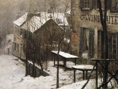 Le cabaret du Lapin Agile à Montmartre-Pierre Prins-Giclee Print
