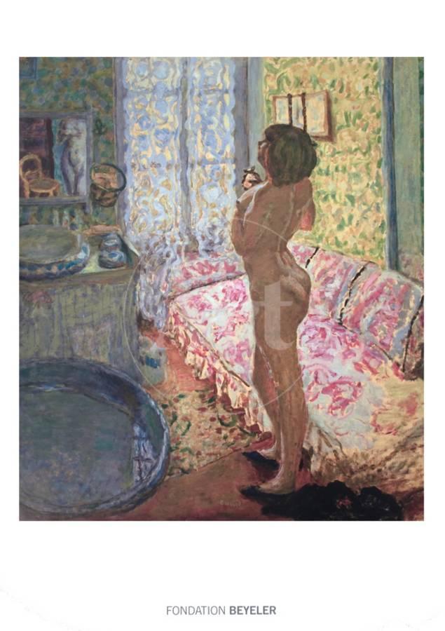 Le Cabinet De Toilette Au Canape Rose Art Print By Pierre Bonnard Art Com