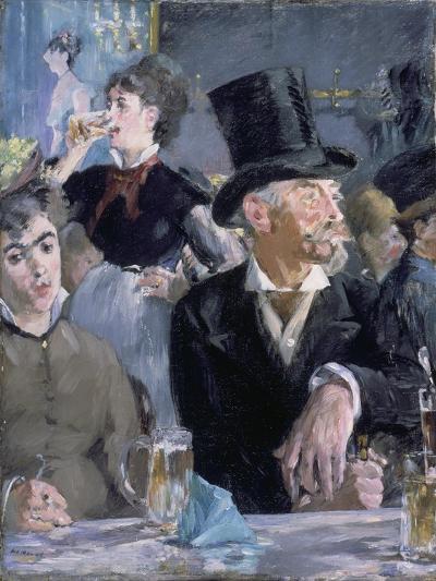 Le Café - Le Concert, 1878-Edouard Manet-Giclee Print