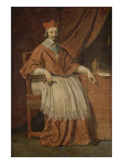Le cardinal de Richelieu-Philippe De Champaigne-Giclee Print