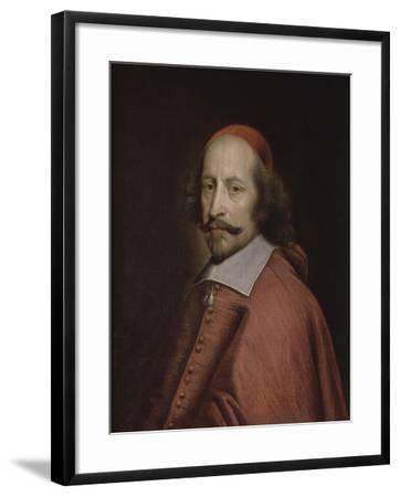 Le cardinal Mazarin-Pierre Mignard-Framed Giclee Print