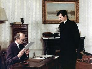 Le Cercle Rouge The red circle by Jean-Pierre Melville with Paul Crauchet, Alain Delon, 1970 (photo