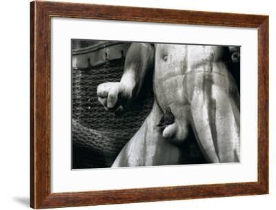 Le Chant du Depart, c.1954-Robert Doisneau-Framed Art Print