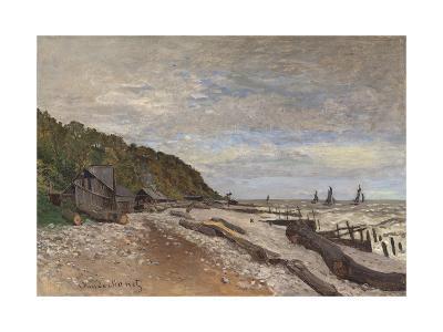 Le Chantier De Petits Navires, Près De Honfleur, 1864-Claude Monet-Giclee Print