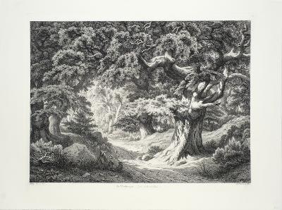 Le Charlemaagne (Foret de Fontainblue)-Eugene Blery-Collectable Print