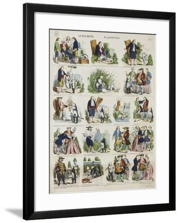 Le chat botté--Framed Giclee Print